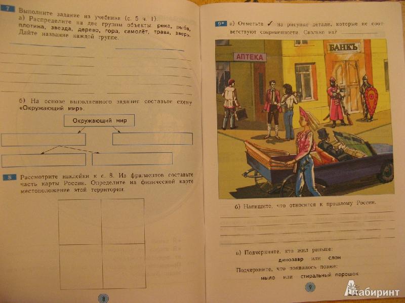 Гдз по окружающему миру 4 класс дмитриева казаков учебник