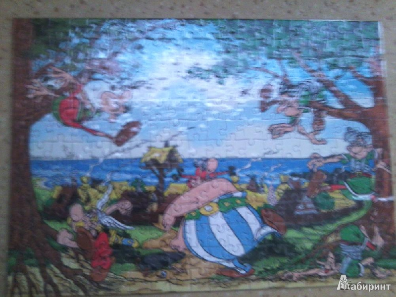 "Иллюстрация 1 из 4 для Puzzle-260. ""Asterix"" Разминка Обеликса (B-PU26091)   Лабиринт - игрушки. Источник: Наташа-13"