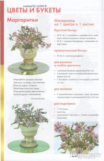 Фигурки, цветы и миниатюры из бисера.