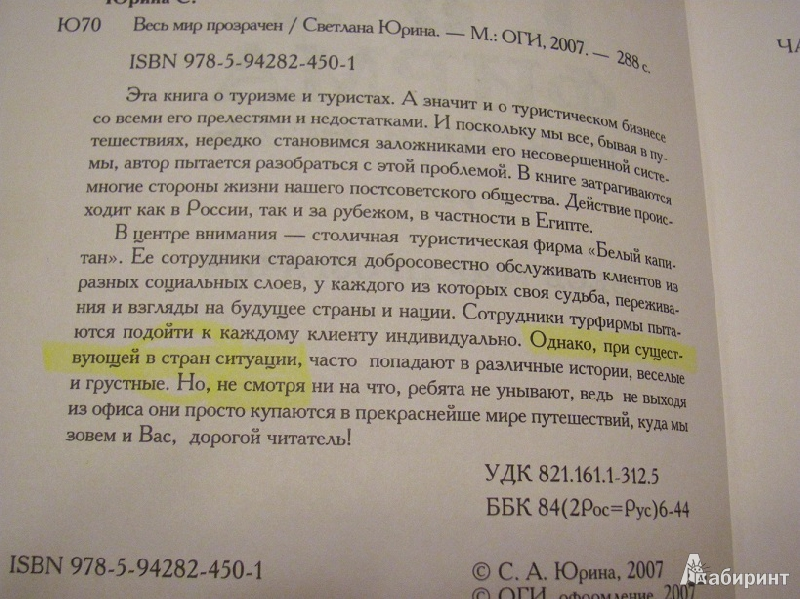 Иллюстрация 1 из 9 для Турфирма как она есть: Роман - Светлана Юрина   Лабиринт - книги. Источник: jakonya