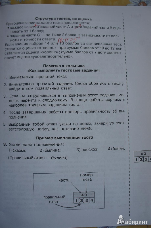 Иллюстрация 2 из 7 для итоговые тесты