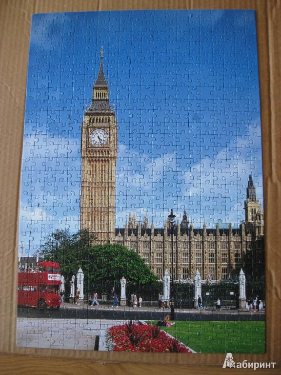 Иллюстрация 1 из 2 для Step Puzzle-560 Лондон. Биг Бен (78073) | Лабиринт - игрушки. Источник: Баскова  Юлия Сергеевна