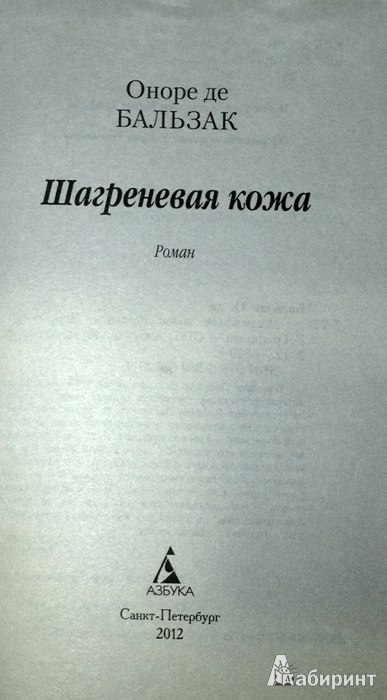 Иллюстрация 1 из 22 для Шагреневая кожа - Оноре Бальзак | Лабиринт - книги. Источник: Леонид Сергеев