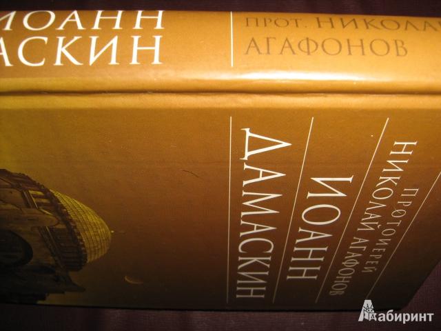 Иллюстрация 1 из 5 для Иоанн Дамаскин - Николай Протоиерей | Лабиринт - книги. Источник: Finese