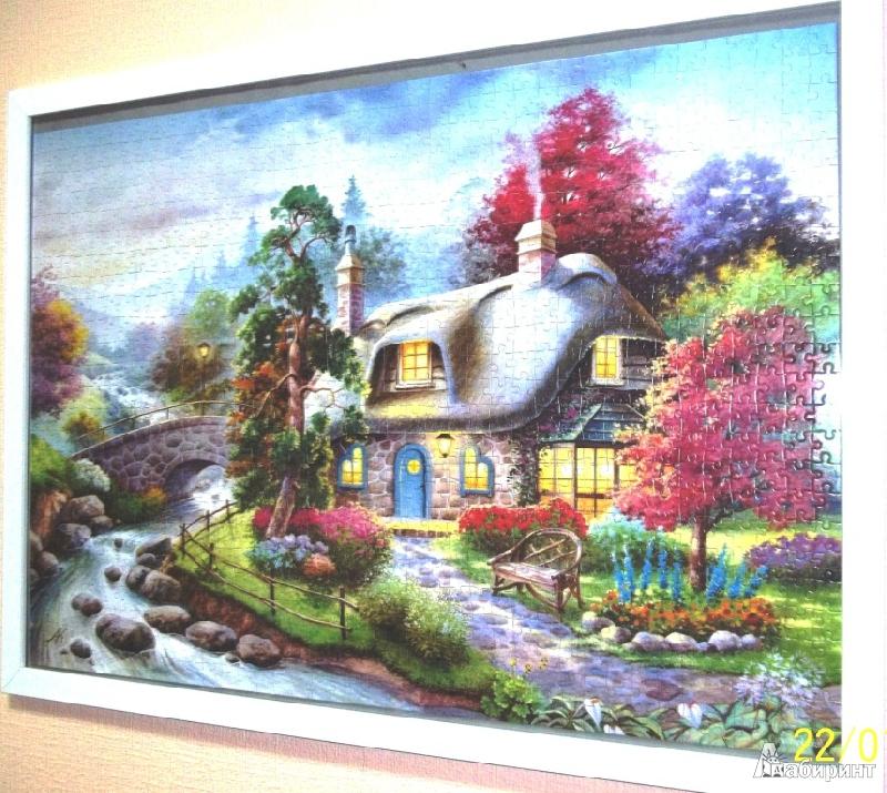 Иллюстрация 1 из 15 для Puzzle-1000. Сказочный домик (С-101047) | Лабиринт - игрушки. Источник: JaaSv