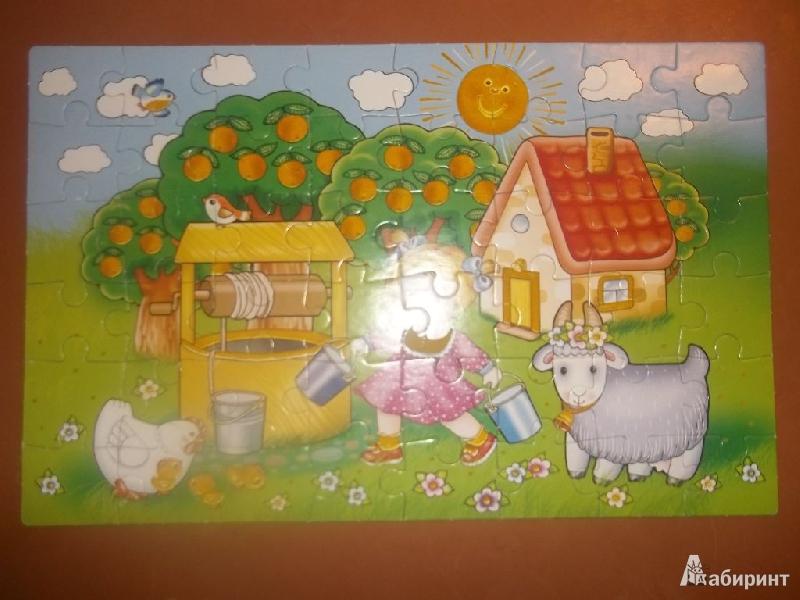 Иллюстрация 1 из 4 для Бархатные пазлы. Хозяюшка | Лабиринт - игрушки. Источник: Волкова  Светлана