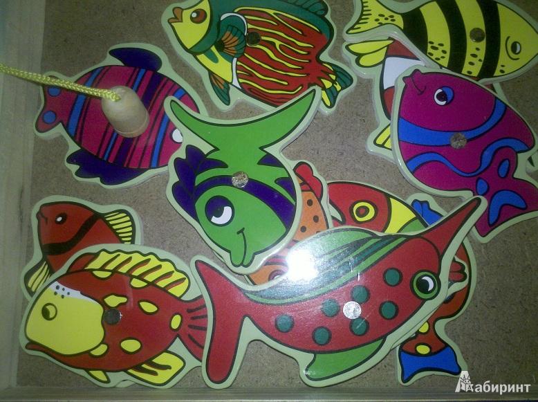 """Иллюстрация 1 из 3 для Рыбалка на магнитах """"Морские глубины"""" (TZ 10397)   Лабиринт - игрушки. Источник: Tiana426"""