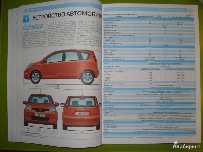Nissan Note с 2005-2008 г.