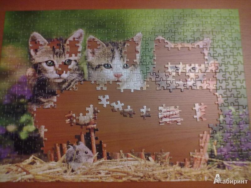 Иллюстрация 1 из 2 для Puzzle-500. Три котенка (В-51168) | Лабиринт - игрушки. Источник: shumok
