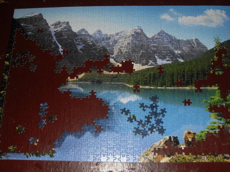 Иллюстрация 1 из 9 для Puzzle-1000. Озеро (С-101733) | Лабиринт - игрушки. Источник: Klementinka