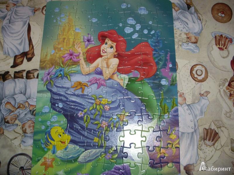 Иллюстрация 1 из 9 для Step Puzzle-104 82101 Русалочка   Лабиринт - игрушки. Источник: Tiger.