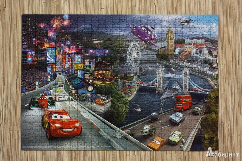 """Иллюстрация 1 из 17 для Step Puzzle-560 """"Тачки"""" (97009)   Лабиринт - игрушки. Источник: Mamma Mari"""