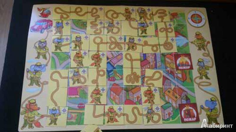 Иллюстрация 1 из 5 для Спасатели - вперед! Настольная игра (1112145) - Сомов, Жарков   Лабиринт - игрушки. Источник: Fox  Box