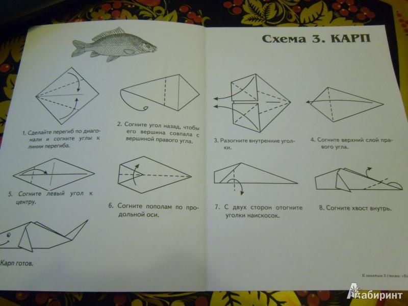 Конспект занятие по оригами