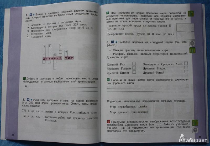 4 окр класс учебник мир решебник