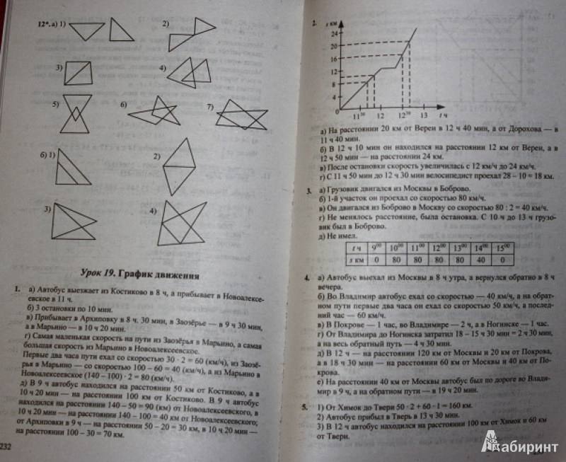 По готовые домашние математике класс учебнику к фгос за задания 4