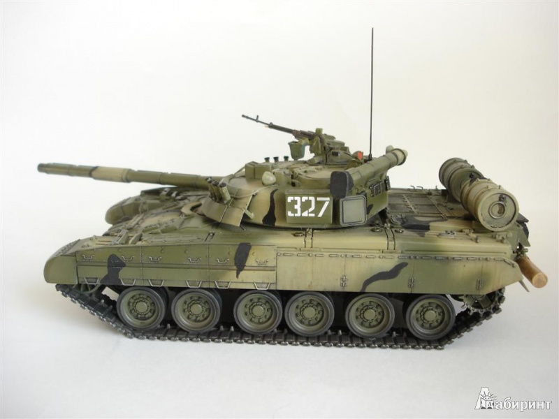 Иллюстрация 1 из 7 для Основной боевой танк Т-80УД | Лабиринт - игрушки. Источник: Dr. Katz
