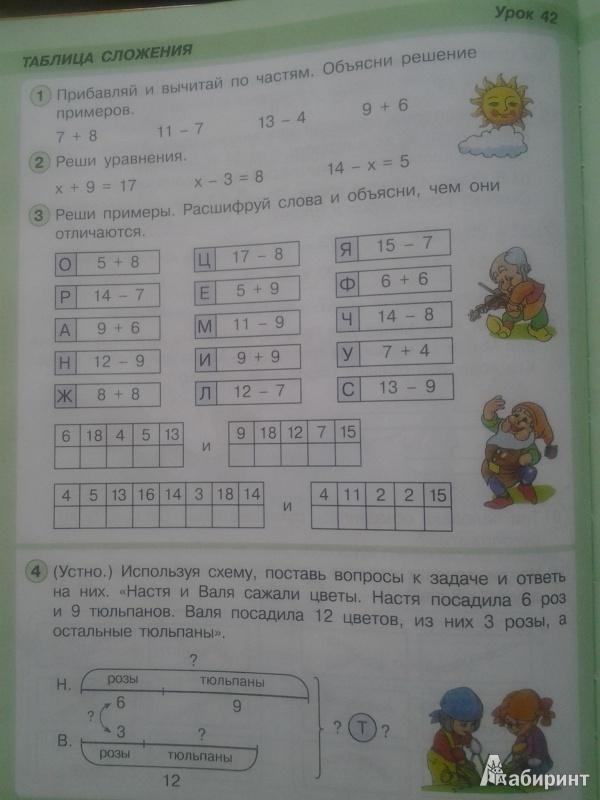 Петерсон математика 1 класс 2 часть рабочая тетрадь решение :: maybolaly