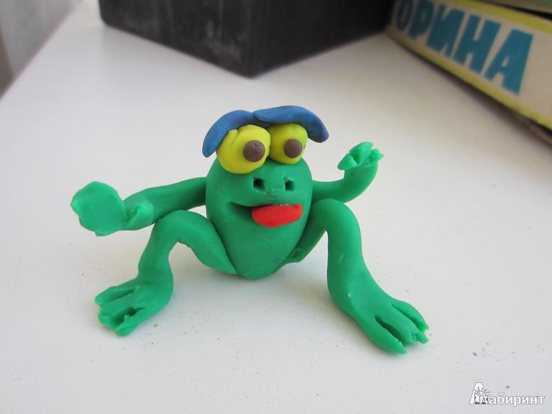 Детские игрушки из пластилина