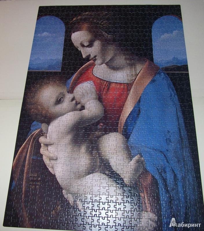 Иллюстрация 1 из 8 для Step Puzzle-1000 (79207) Мадонна с младенцем | Лабиринт - игрушки. Источник: Tatiana  Andrievskaya