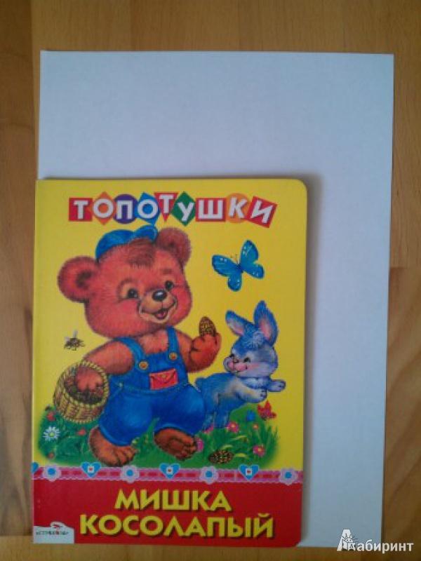 Иллюстрация 1 из 7 для Мишка косолапый | Лабиринт - книги. Источник: Романенкова Наталья