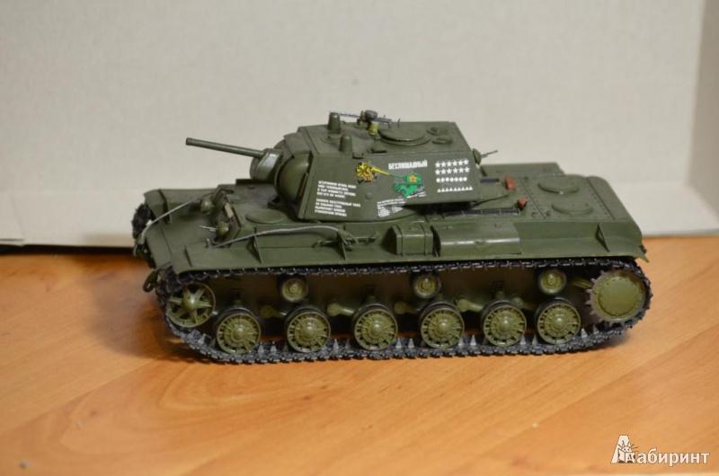 """Иллюстрация 1 из 8 для Советский танк """"КВ-1"""" (3539П)   Лабиринт - игрушки. Источник: Денис-Х-И"""