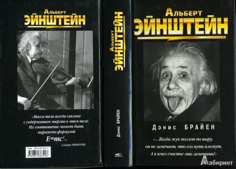 Иллюстрация 1 из 9 для Альберт Эйнштейн - Дэнис Брайен | Лабиринт - книги. Источник: * Ольга *