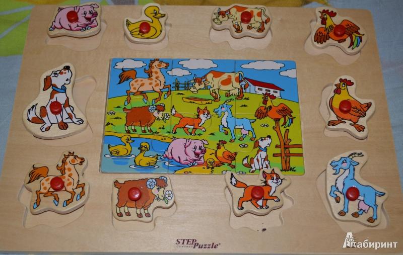 Иллюстрация 1 из 4 для Игра 89603 Веселое лото: На ферме | Лабиринт - игрушки. Источник: ***Раиса***