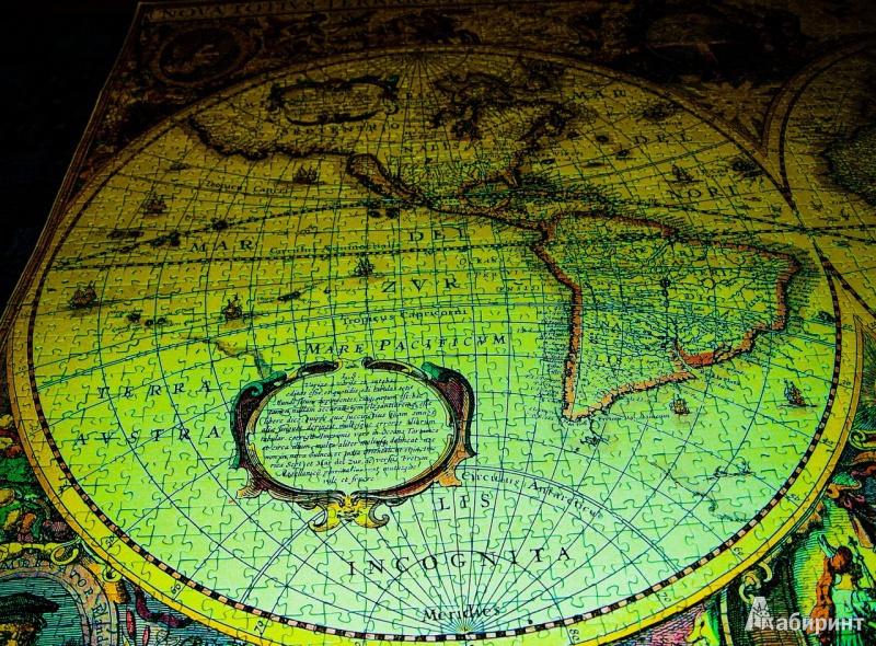 Иллюстрация 1 из 16 для Step Puzzle-3000 85002 Историческая карта мира | Лабиринт - игрушки. Источник: Дарья