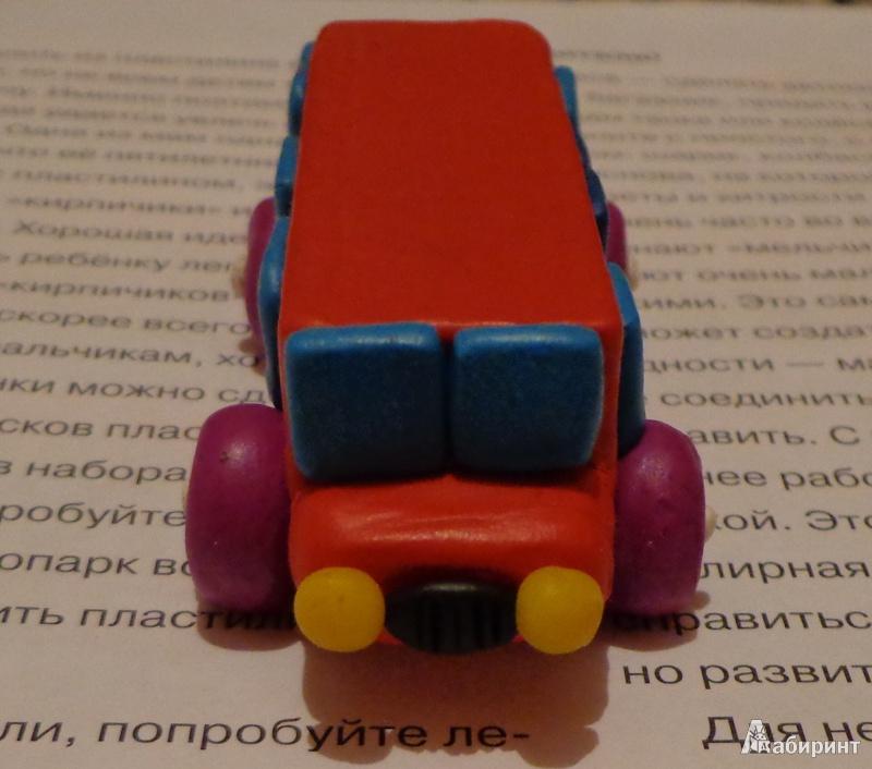 Машинки из пластилина своими руками 83