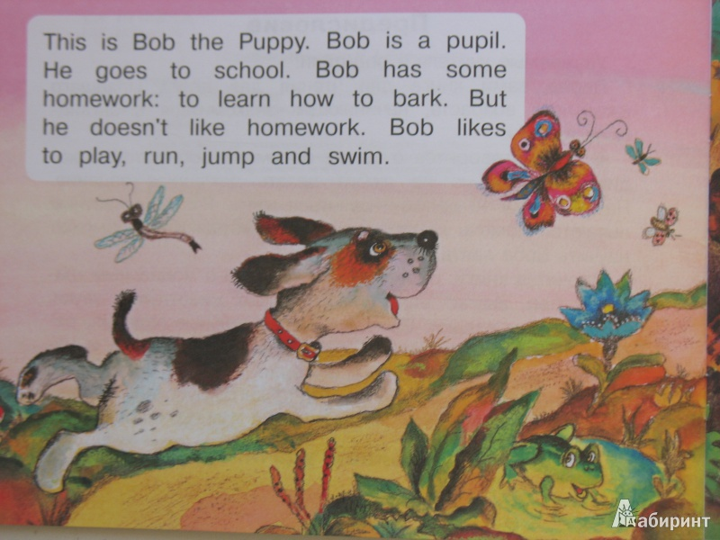 Иллюстрация 1 из 12 для Bob the Puppy - Анастасия Владимирова | Лабиринт - книги. Источник: Tatyana_G