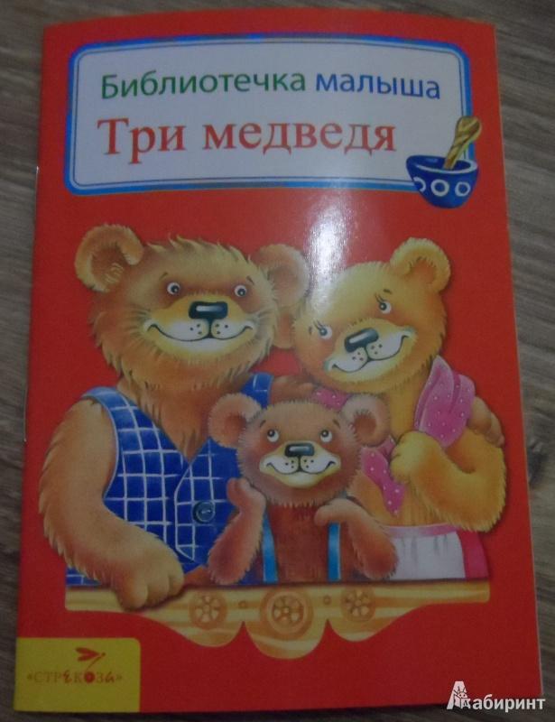 Иллюстрация 1 из 26 для Три медведя | Лабиринт - книги. Источник: Sadalmellik