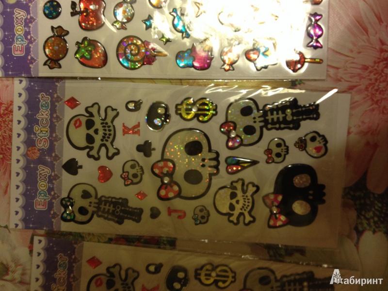 Иллюстрация 1 из 3 для Наклейка детская Epoxy Sticker. В ассортименте | Лабиринт - игрушки. Источник: Струкова Надежда Владимировна