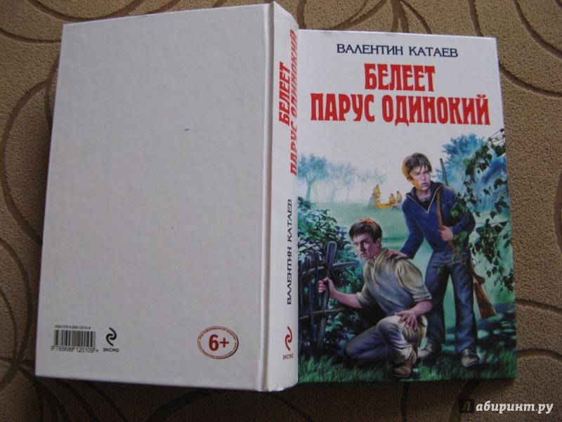 Иллюстрация 1 из 20 для Белеет парус одинокий: Повести - Валентин Катаев | Лабиринт - книги. Источник: bulochka