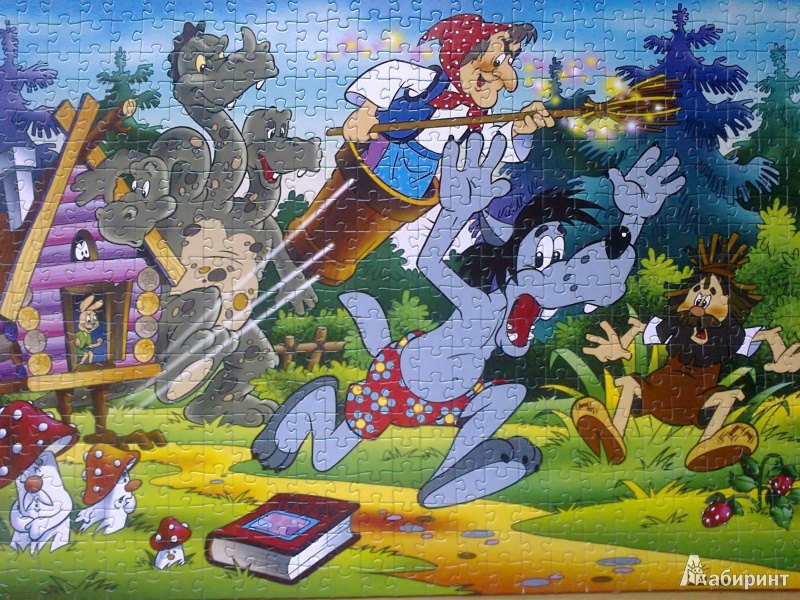 Иллюстрация 1 из 15 для Step puzzle-560 78005 Ну, погоди! | Лабиринт - игрушки. Источник: Mousse