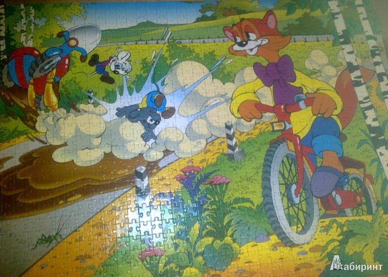 Иллюстрация 1 из 6 для Step Puzzle-1000 Леопольд | Лабиринт - игрушки. Источник: Mousse