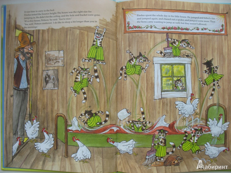 Иллюстрация 1 из 35 для Финдус переезжает - Свен Нурдквист   Лабиринт - книги. Источник: Tatyana_G