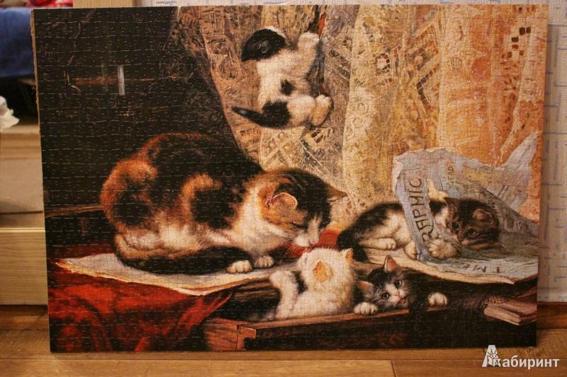 Иллюстрация 1 из 11 для Puzzle-1000. Живопись (С-101603) | Лабиринт - игрушки. Источник: vampiroza