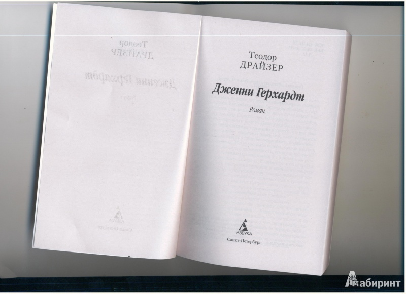 Иллюстрация 1 из 10 для Дженни Герхардт - Теодор Драйзер | Лабиринт - книги. Источник: Evvvgennnia
