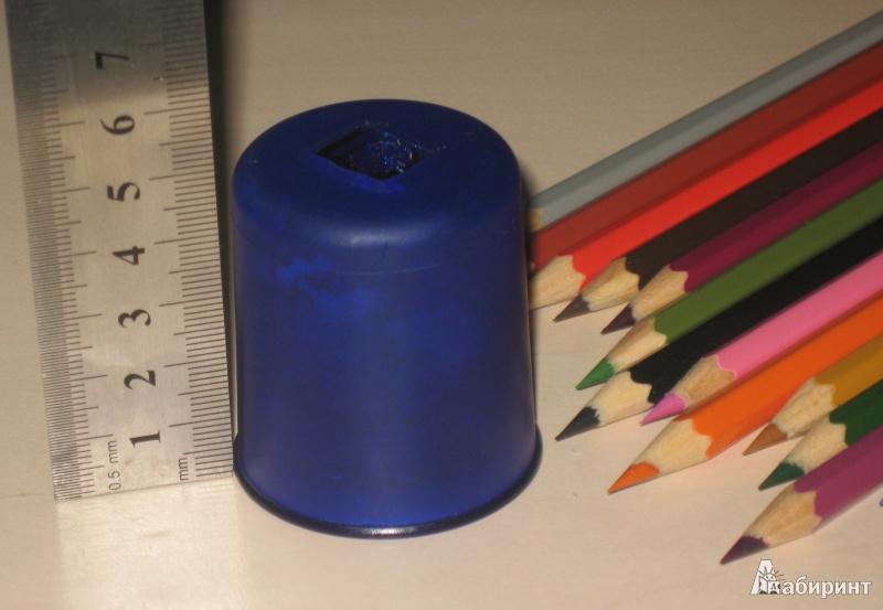 Иллюстрация 1 из 3 для Точилка одинарная с контейнером Pod K1   Лабиринт - канцтовы. Источник: ТК___