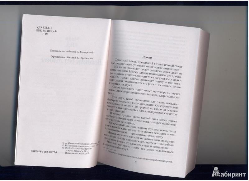 Иллюстрация 1 из 21 для Всадник без головы - Рид Майн   Лабиринт - книги. Источник: Evvvgennnia