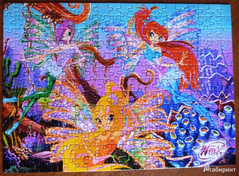 """Иллюстрация 1 из 2 для Puzzle-260 """"Винкс"""" Морской риф (26259)   Лабиринт - игрушки. Источник: стафий  мария валерьевна"""