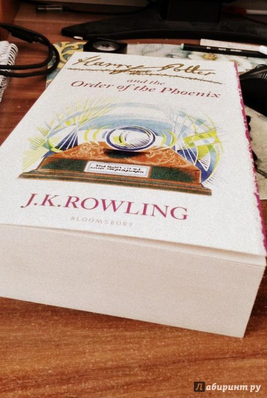 Иллюстрация 1 из 30 для Harry Potter and Order of the Phoenix - Joanne Rowling | Лабиринт - книги. Источник: Осипова  Анна