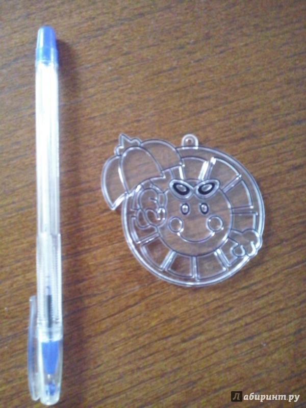 Иллюстрация 1 из 4 для Витраж малый: Солнышко с зонтом   Лабиринт - игрушки. Источник: Олюсик