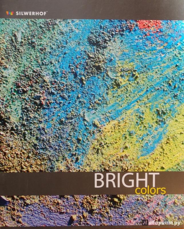 """Иллюстрация 1 из 6 для Тетрадь 48 листов, клетка """"Bright colors"""", в ассортименте (811306-55)   Лабиринт - канцтовы. Источник: Квактун  Мария"""