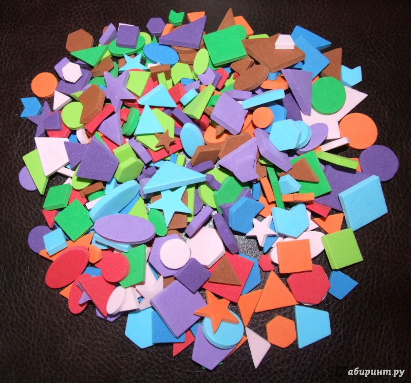 Иллюстрация 1 из 4 для Счётный материал, 300 деталей (47090)   Лабиринт - игрушки. Источник: Сидоренок  Андрей