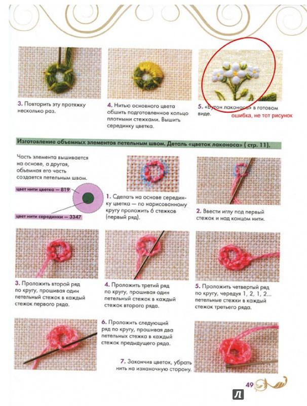 Объемная вышивка гладью бабочки и цветка Мастер класс по вышиванию гладью