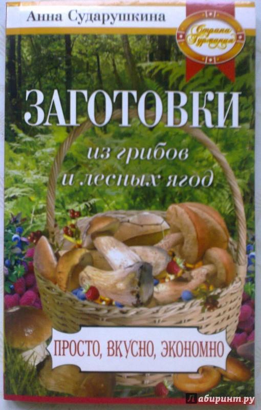 Иллюстрация 1 из 8 для Заготовки из грибов и лесных ягод - Анна Сударушкина | Лабиринт - книги. Источник: Mousse