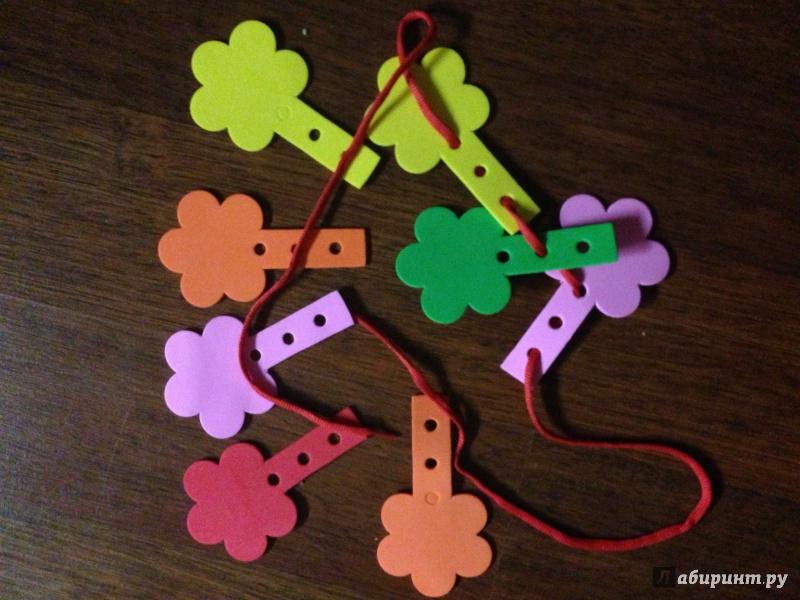 Иллюстрация 1 из 5 для Шнуровка. Венок (103023) | Лабиринт - игрушки. Источник: Маша Кудрявцева