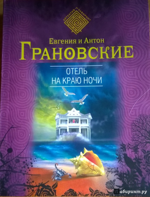 Иллюстрация 1 из 10 для Отель на краю ночи - Грановская, Грановский | Лабиринт - книги. Источник: very_nadegata